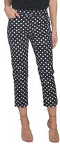 CeCe Women's Crop Stretch Woven Pants