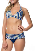 Jessica Simpson Nautical Halter Bikini Top