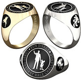 Disney Mickey Mouse and Tinker Bell RunDisney Ring for Women by Jostens - Personalizable