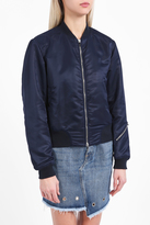 Rag & Bone Morton Satin Bomber Jacket