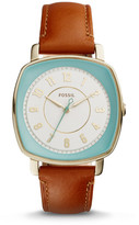 Fossil Idealist Light Brown Leather Watch