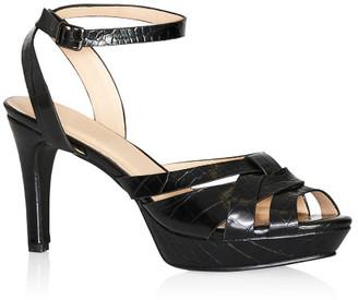 City Chic Caselli Heel - black