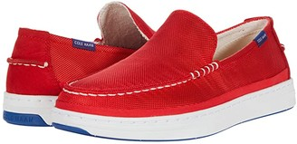 Cole Haan Cloudfeel Slip-On Sneaker (Ironstone Washed Canvas) Men's Shoes