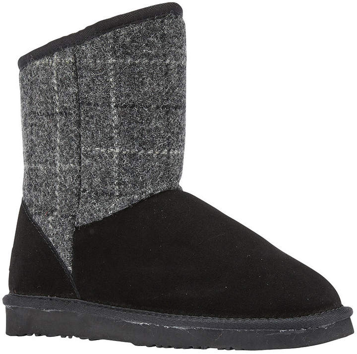 f7c4794fcfafc Black Suede Winter Women Boots - ShopStyle