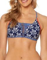 Jessica Simpson Printed Bikini Top