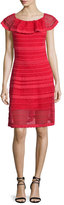 M Missoni Off-The-Shoulder Scallop Dress