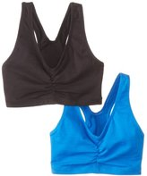 Hanes Women's Comfort-Blend Flex Fit Pullover Bra (Pack of 2)