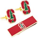 Ice Stanford University Cufflinks and Money Clip Gift Set
