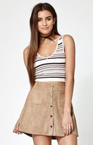 KENDALL + KYLIE Kendall & Kylie V-Neck Cropped Sweater Tank Top