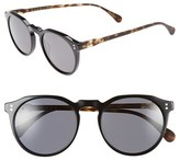Raen Men's 'Remmy' 52Mm Polarized Sunglasses - Matte Tortoise/ Black/ Smoke