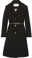 Chloé Iconic Wool-blend Coat - Black