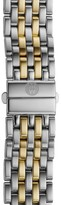 Michele Women's Deco 16 16Mm Two-Tone Bracelet Watchband
