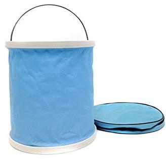 Outlook Design SE' CHIELLO, foldable waterproof bucket, light blue