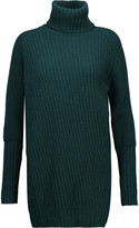 Belstaff Eliora ribbed wool and cashmere-blend turtleneck sweater