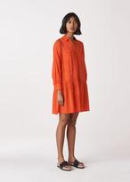 Dot Flower Print Dress
