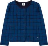 Petit Bateau Cotton jersey cardigan