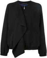 Barbara Bui front flap bomber jacket - women - Polyester/Viscose - 36