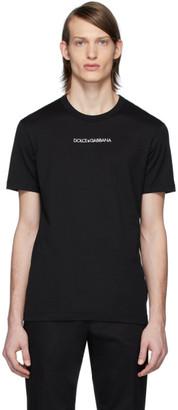 Dolce & Gabbana Black Essential Logo T-Shirt