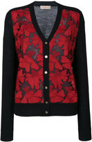 Tory Burch embroidered cardigan