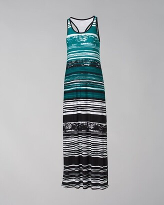 Soma Intimates Racerback Maxi Dress with Built-In Bra