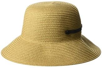 San Diego Hat Company PBM3018 - Packable Bucket Hat (Camel) Caps