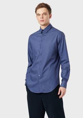 Giorgio Armani Regular-Fit Shirt In Cotton
