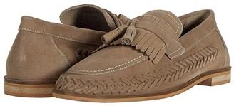 Walk London Arrow Loafer (Stone Suede) Men's Shoes