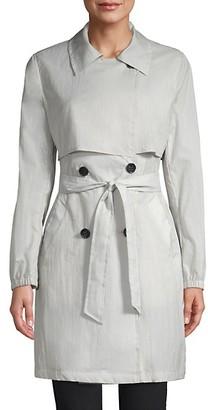 Jane Post Mid-Length Trench Coat