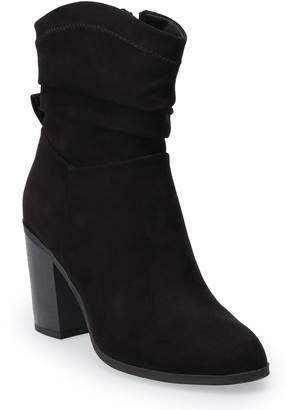 So Marmoset Women's High Heel Slouch Boots