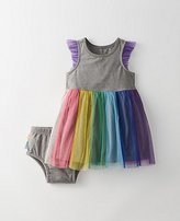 Toddler Rainbow Tulle Dress Set