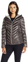 Laundry by Shelli Segal Women's Packable Down Jacket with Bag