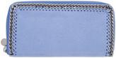 Stella McCartney Blue Falabella Box Continental Wallet