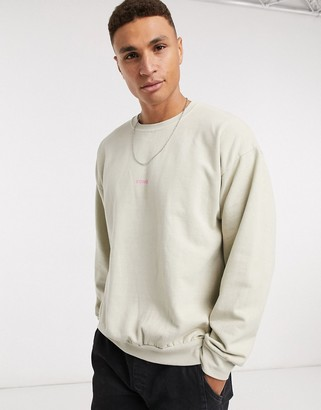 Topman Soho sweat in stone