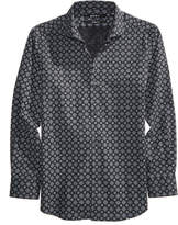 DKNY Mosaic-Print Shirt, Big Boys