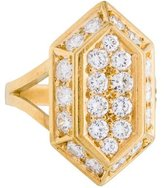 H.Stern 18K Pavé Diamond Ring