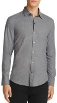 Zachary Prell Flannel Slim Fit Button-Down Shirt