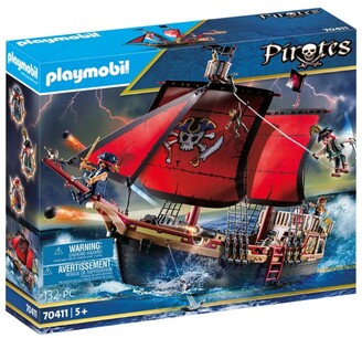 Playmobil Pirates Skull Pirate Ship