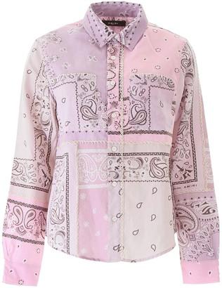 Amiri Bandana Print Shirt