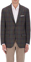 Luciano Barbera MEN'S PLAID WOOL-CASHMERE TWO-BUTTON SPORTCOAT