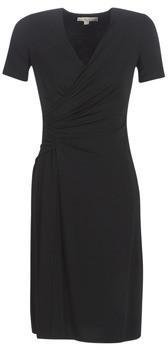 MICHAEL Michael Kors ELV TWIST DRSS women's Long Dress in Black