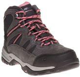 Hi-Tec New Womens Grey Bandera Suede Boots Lace Up