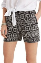 Madewell Women's Foulard Print Shorts