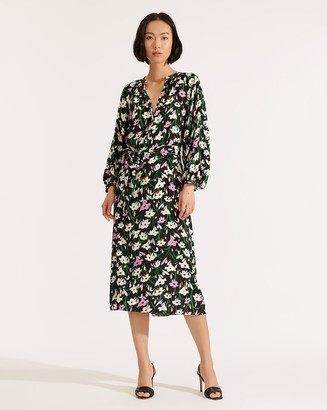 Veronica Beard Cecilia Floral Dress