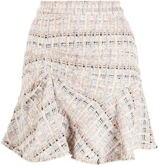IRO Sibela tweed mini skirt
