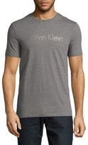 Calvin Klein Logo Printed Textured Tee