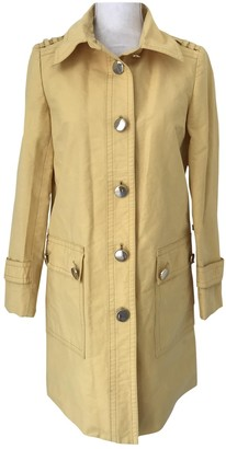 Marc by Marc Jacobs Yellow Cotton Coat for Women
