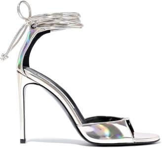 Stella McCartney Iridescent Faux Leather Sandals