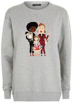 Dolce & Gabbana Family Appliqué Sweatshirt