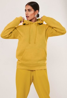 Missguided Camel Basic Hoodie