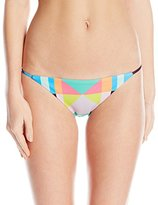 Mara Hoffman Women's Diamonds Spaghetti Strap Bikini Bottom